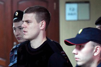 Кокорин извинился перед Паком в зале суда