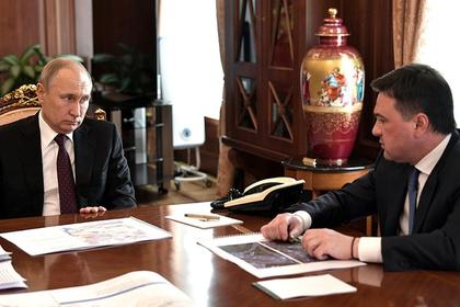 Воробьев рассказал Путину детали строительства дорожной развязки в Химках