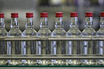 Треть водки в России оказалась паленой