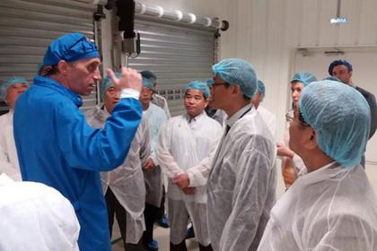 Вьетнамская делегация посетила особо экономическую зону «Дубна»