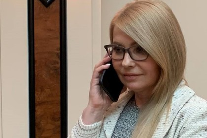 Тимошенко пошутила над «позвонившим» ей Порошенко