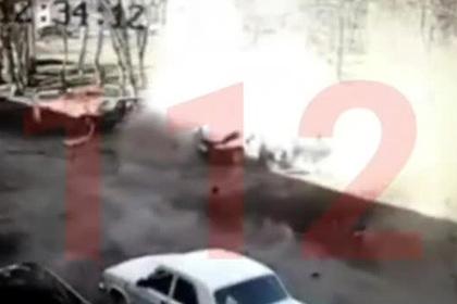 Россиянин сел в машину и взорвался