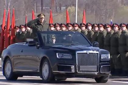 Кабриолет из «Кортежа» Путина впервые показали полностью
