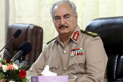 Трамп пообщался с ливийским фельдмаршалом Хафтаром