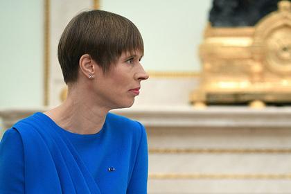 Президент Эстонии рассказала о желании русских детей учить эстонский