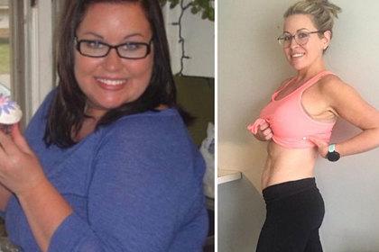 Тучная американка похудела вдвое ради мечты