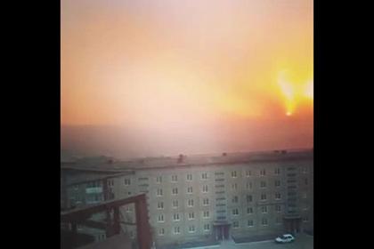 Степной пожар уничтожил более полусотни домов в российском селе