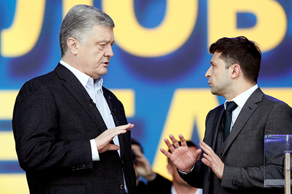 Дебаты Порошенко и Зеленского растащили на мемы