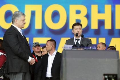 Теледебаты Порошенко и Зеленского сорвали