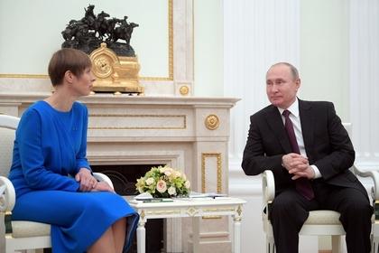 Встреча президента Эстонии с Путиным расколола прибалтов