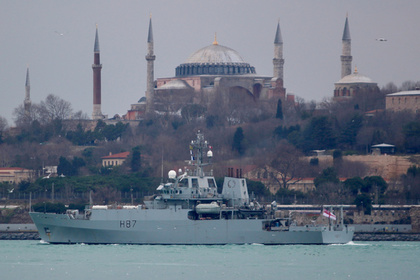 В Черном море заметили британский корабль-разведчик