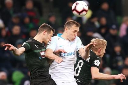 Потасовка игроков «Зенита» и «Краснодара» попала на видео