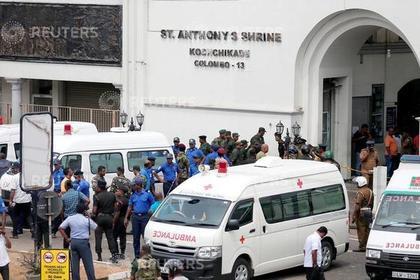 Россияне не пострадали при взрывах в Шри-Ланке