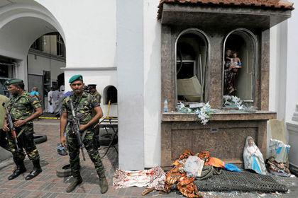 Появилась версия волны терактов в Шри-Ланке