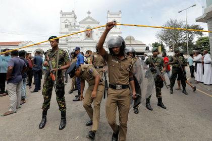 Появились подробности одного из взрывов в Шри-Ланке