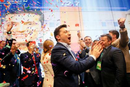 Зеленский раскрыл свои первые планы на посту президента