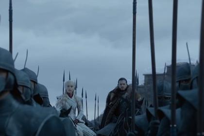 Вторая серия «Игры престолов» утекла в сеть