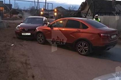 Пьяный начальник отдела ГИБДД устроил аварию на дороге