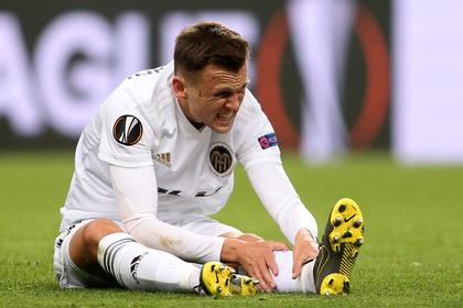 Черышев выбыл до конца сезона