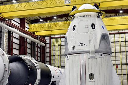 Летавший к МКС Crew Dragon взорвался