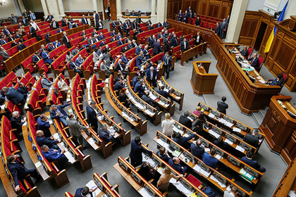 Украинские депутаты поспорили из-за «языка» и «мовы»