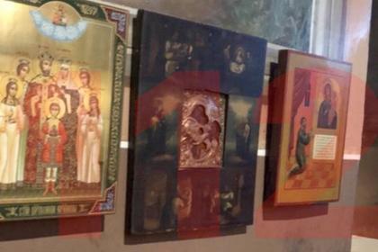 Прихожанка в стразах украла икону из храма и скрылась на золотистом Mercedes