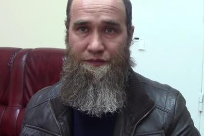 Признание задержанного ФСБ боевика банды Басаева попало на видео