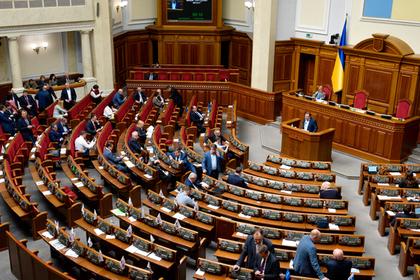 Верховная Рада рассмотрит закон об ограничении полномочий Зеленского