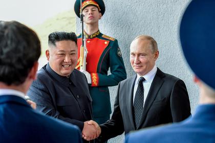 Ким Чен Ын подарил Путину меч