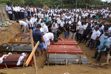 Жертв терактов на Шри-Ланке оказалось на 100 меньше
