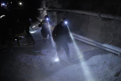 Российские спасатели выехали в ЛНР на аварию в угольной шахте