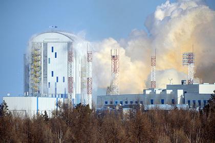 Степной пожар подобрался к космодрому Восточный