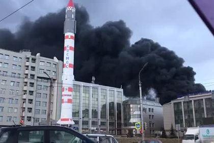 В России загорелся завод-производитель ракет «Сармат» и «Синева»