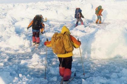 На Таймыре вспомнили о покоривших Северный полюс российских лыжниках