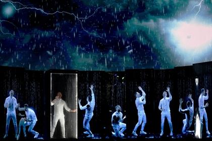 Лазарев выступил на «Евровидении»