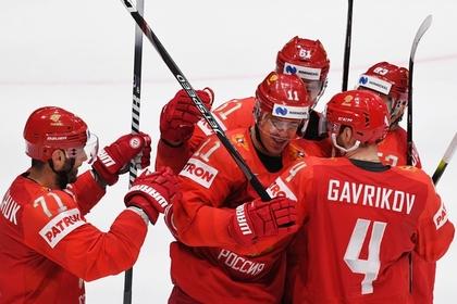 Российские хоккеисты забросили семь шайб и разгромили Швецию на чемпионате мира