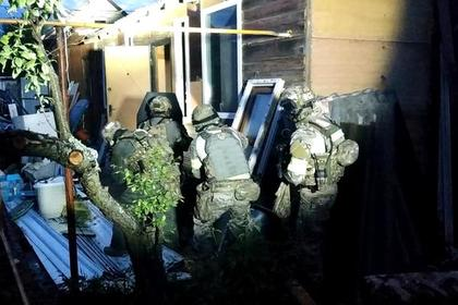 Ликвидацию боевиков под Владимиром сняли на видео