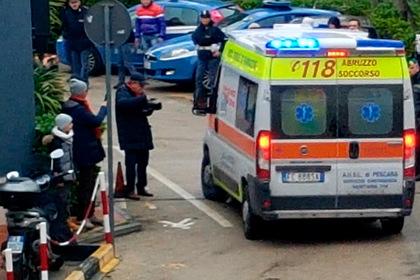 Туристический автобус с россиянами перевернулся в Италии