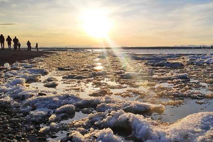 Губернатор Ямала восхитился начавшимся на Оби ледоходом