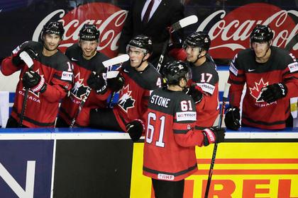 Канадцы за 0,3 секунды до сирены перевели матч в овертайм и вышли в полуфинал ЧМ