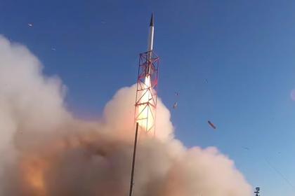 Студенты из США запустили ракету в космос