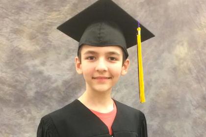 14-летний вундеркинд получил две ученые степени