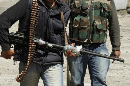 В Сирии боевики напали на военную базу и захватили заложников