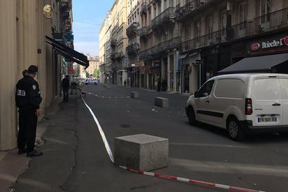 Взрыв произошел в центре французского Лиона