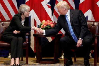 Трамп раскрыл отношение к уходу Терезы Мэй
