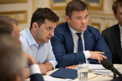 Зеленский рассмотрит петицию об отставке главы администрации