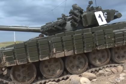 Появилось видео езды американских кадетов на Т-64