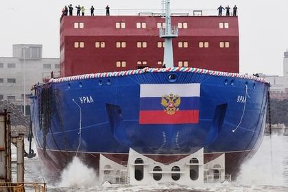 Новый российский атомоход «Урал» спустили на воду