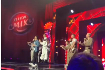 Зеленский станцевал на шоу «Лига Смеха»