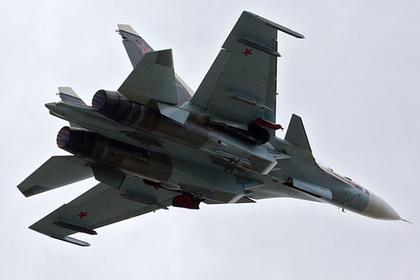 Инцидент с Су-30СМ над Севастополем попал на видео